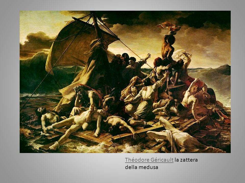 Théodore GéricaultThéodore Géricault la zattera della medusa