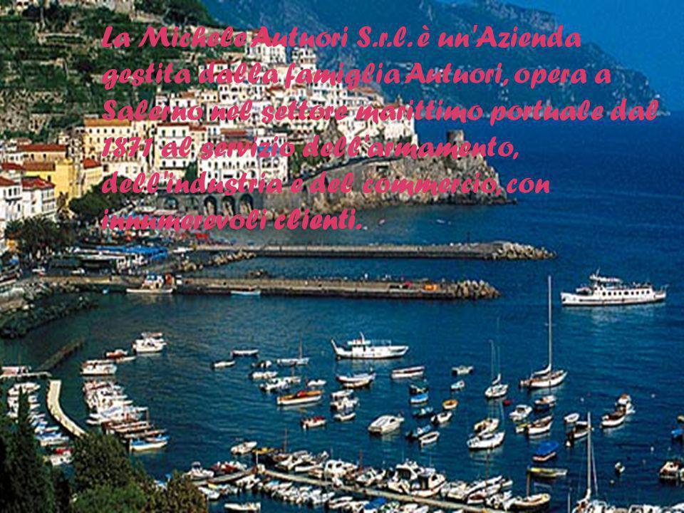 La Michele Autuori S.r.l. è un'Azienda gestita dalla famiglia Autuori, opera a Salerno nel settore marittimo portuale dal 1871 al servizio dell'armame