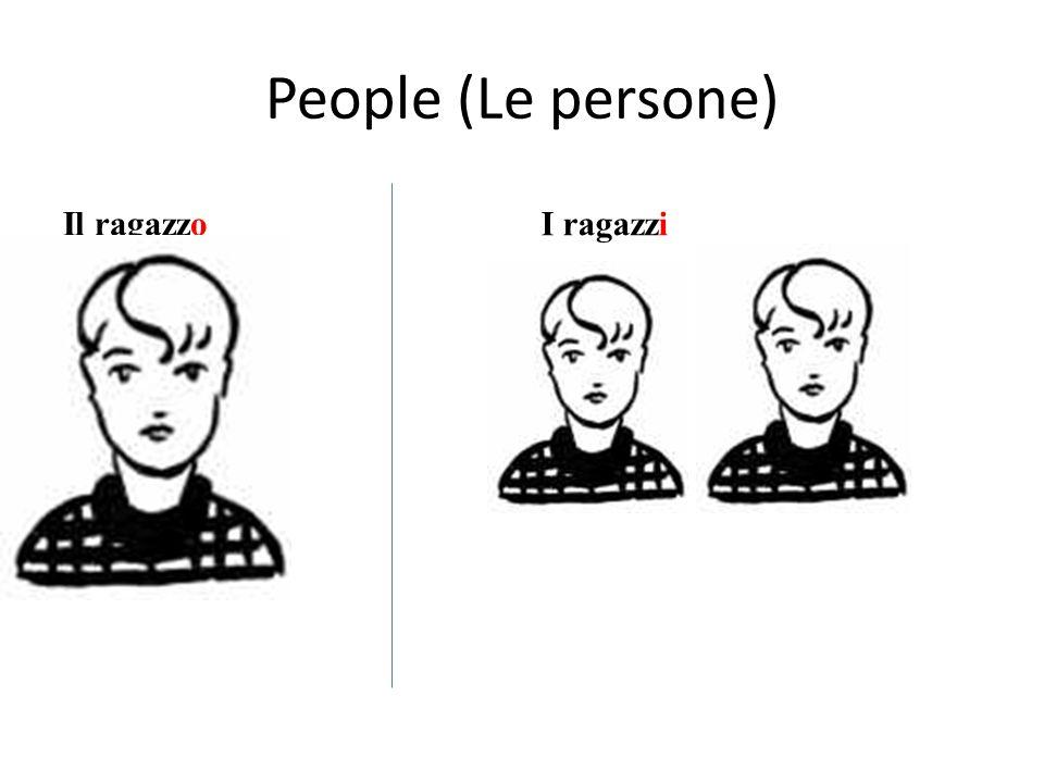 People (Le persone) Il ragazzoI ragazzi