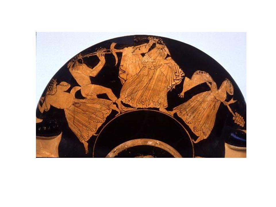 I RITI DIONISIACI Dioniso è il dio dellebbrezza, un vero e proprio liberatore delle energie vitali e naturali presenti nelluomo.