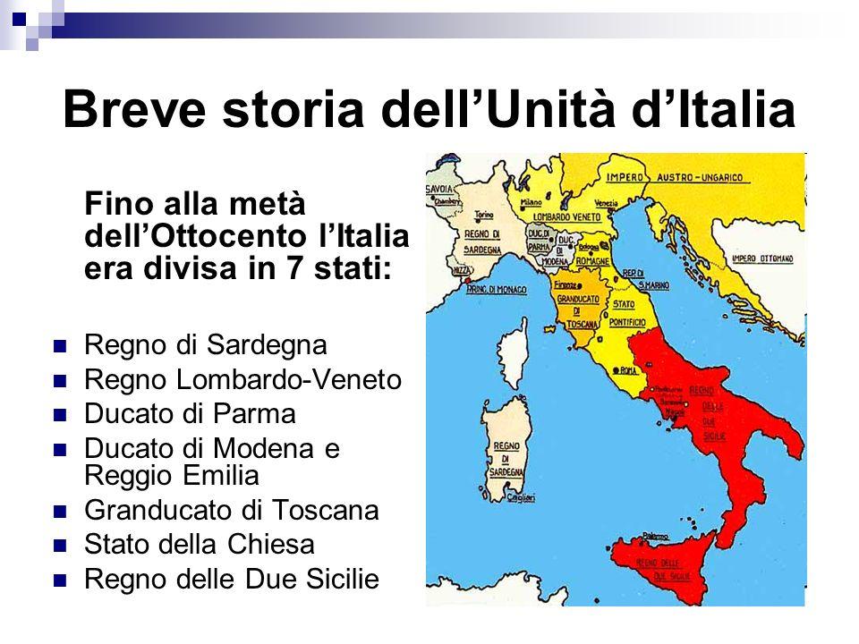 Risorgimento Il periodo della storia dItalia in cui laffermarsi di una coscienza nazionale porta allunità politica e allindipendenza della nazione italiana.