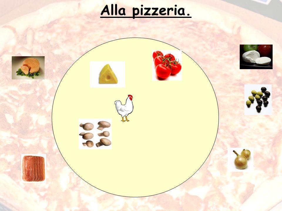 Alla pizzeria.