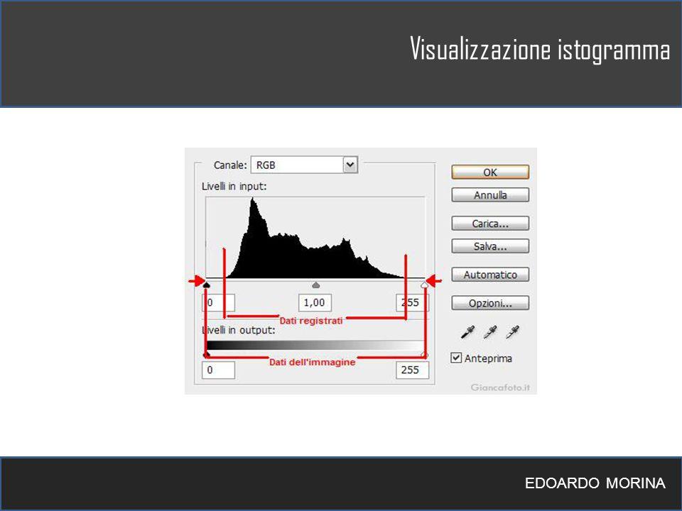 Visualizzazione istogramma EDOARDO MORINA
