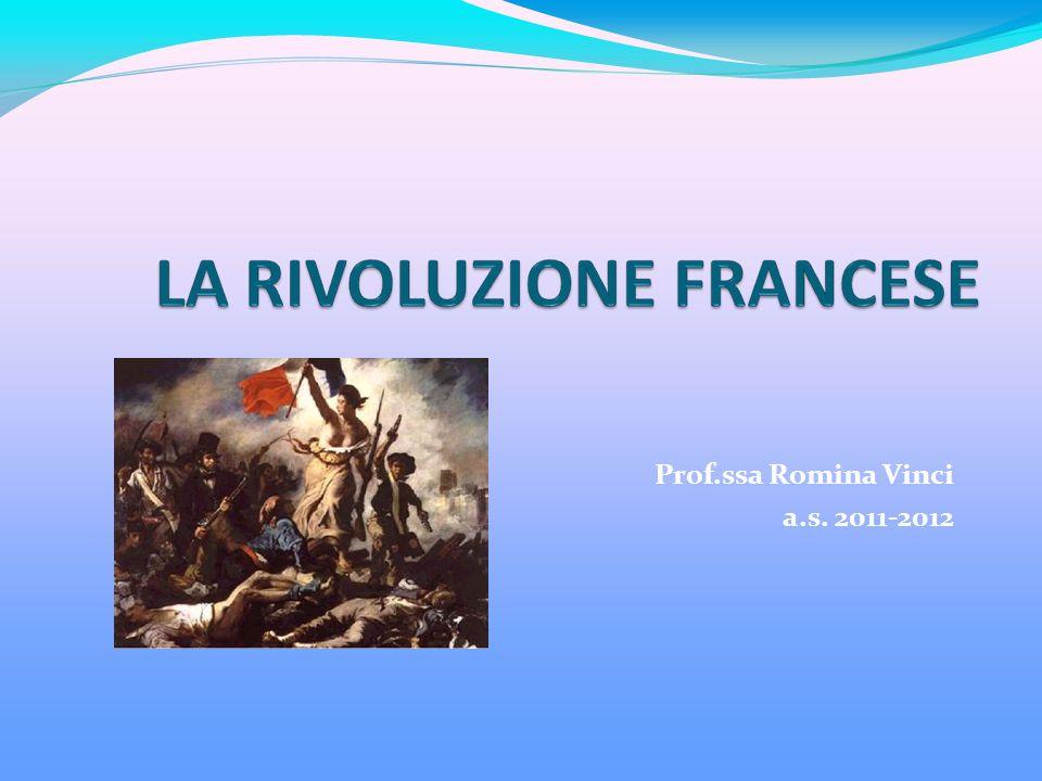 Prof.ssa Romina Vinci a.s. 2011-2012