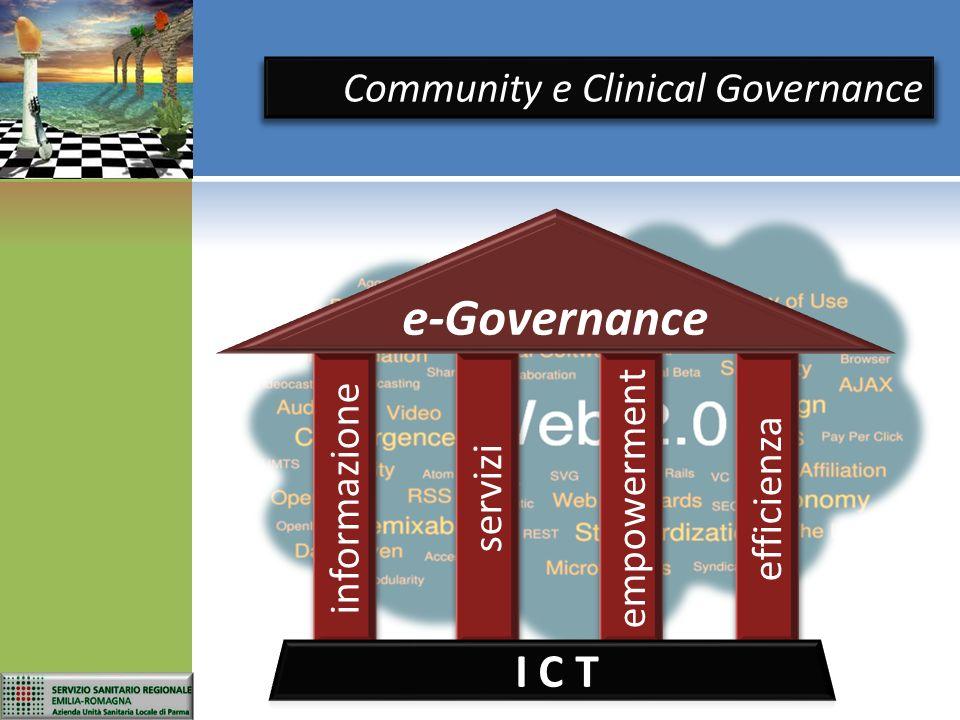 informazione servizi empowerment efficienza e-Governance