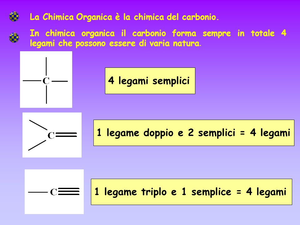 In chimica organica generalmente l ossigeno forma in totale 2 legami che possono essere di varia natura Generalmente l azoto forma in totale 3 legami che possono essere di varia natura 3 legami semplici1 doppio e 1 semplice1 legame triplo 2 legami semplici1 legame doppio