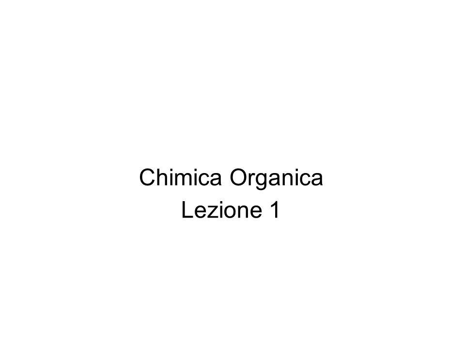 Chimica Organica Lezione 1