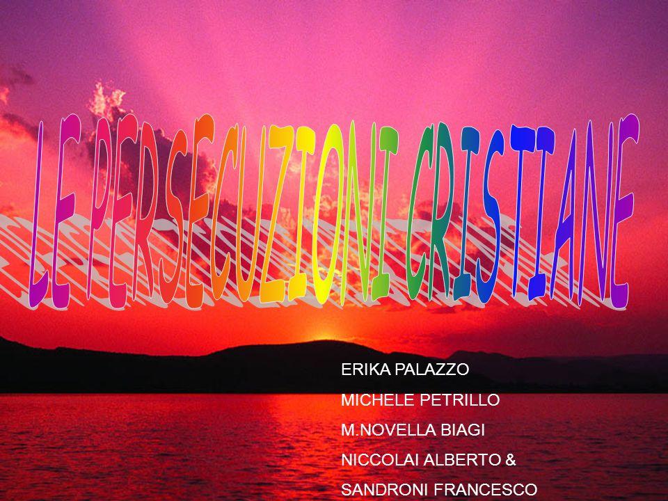 ERIKA PALAZZO MICHELE PETRILLO M.NOVELLA BIAGI NICCOLAI ALBERTO & SANDRONI FRANCESCO