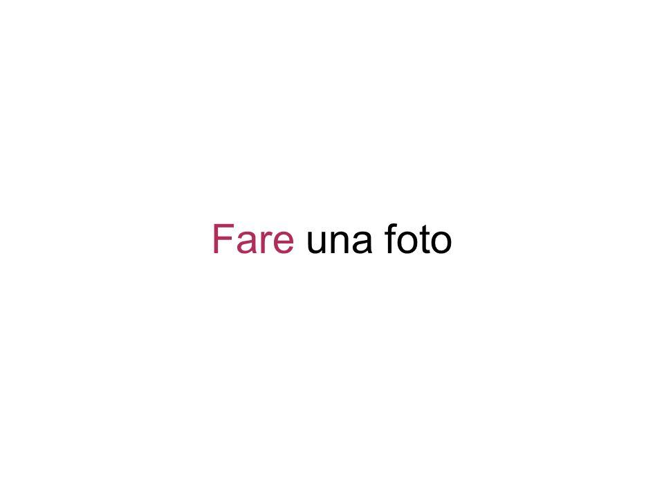 Fare una foto
