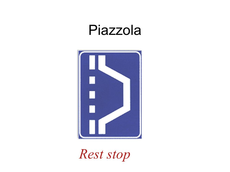 Piazzola Rest stop