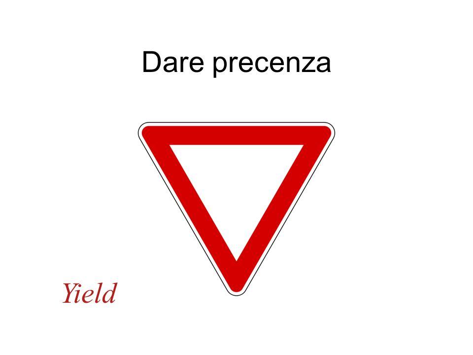 Dare precenza Yield