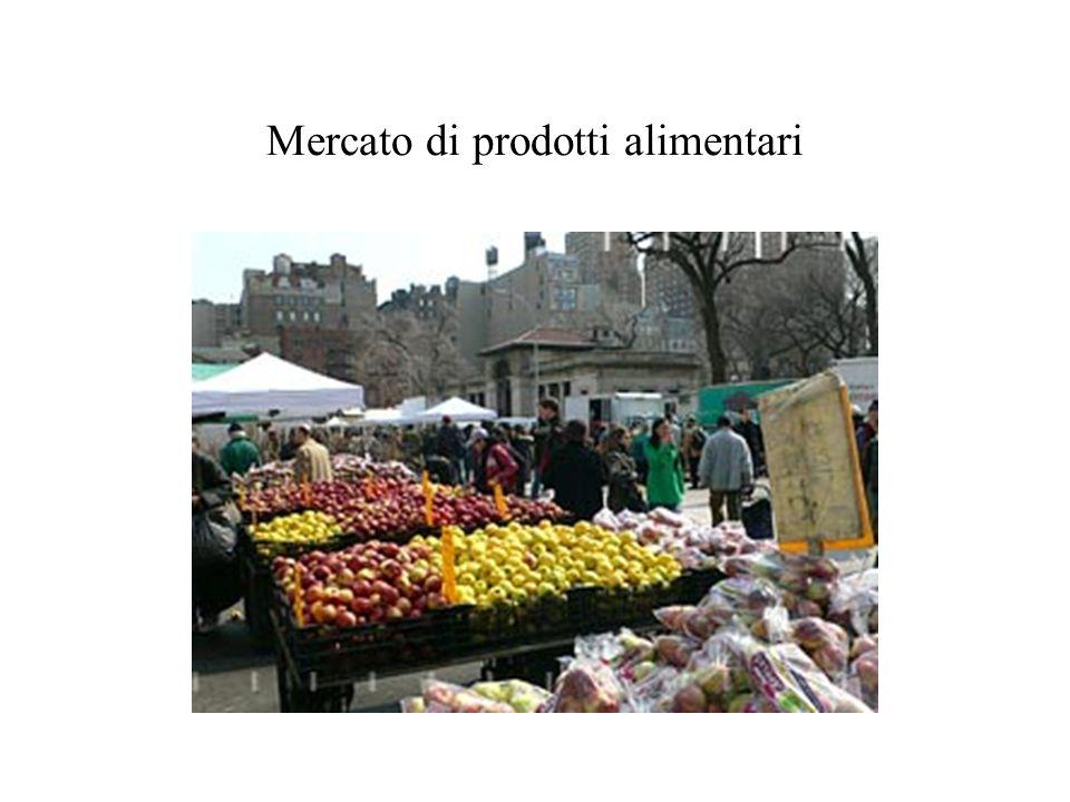 Mercato di prodotti alimentari
