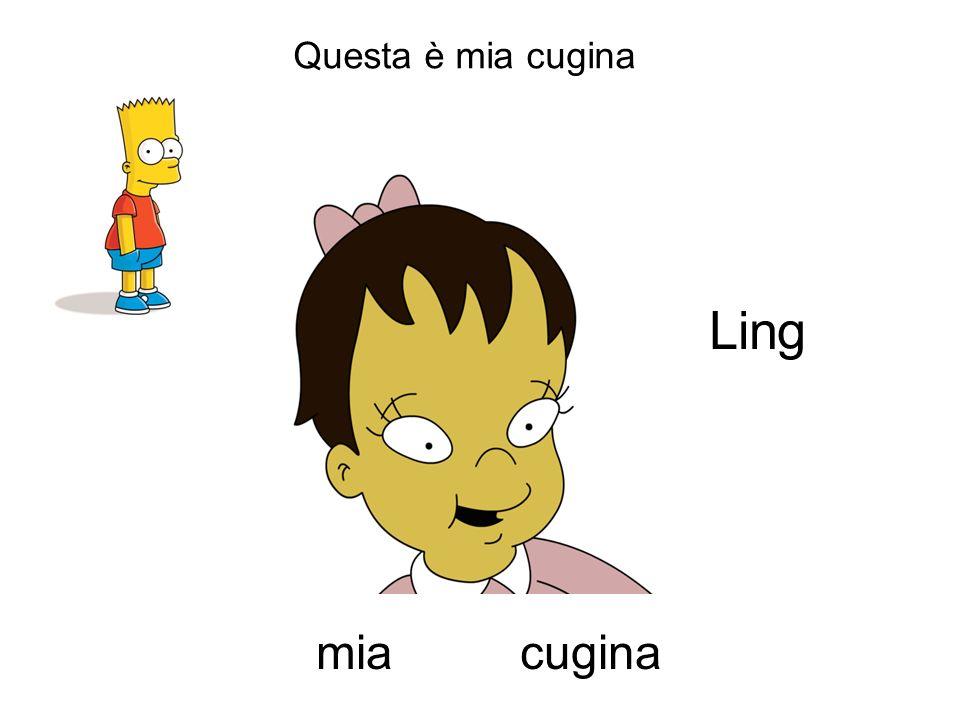 Questa è mia cugina cuginamia Ling