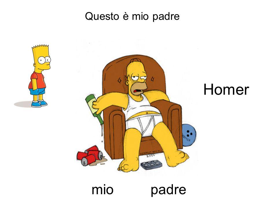 Questo è mio padre padremio Homer