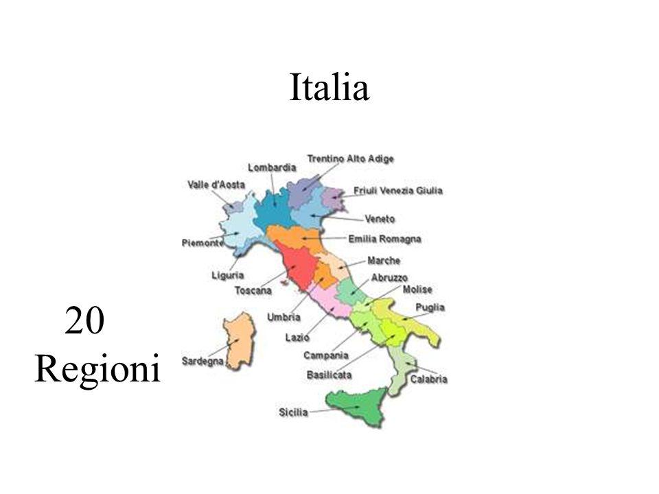 Italia 20 Regioni