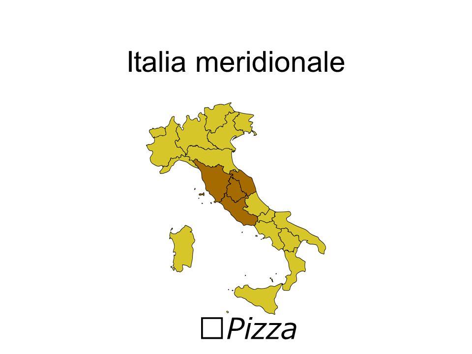 Italia meridionale Pizza
