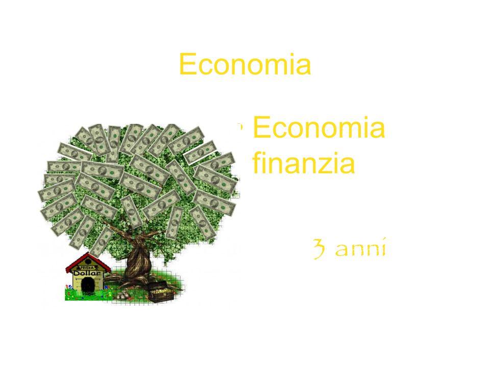 Economia Economia finanzia 3 anni