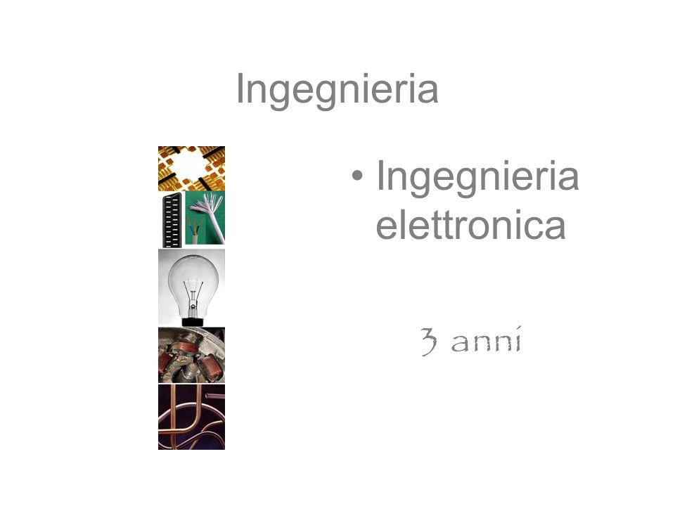 Ingegnieria Ingegnieria elettronica 3 anni