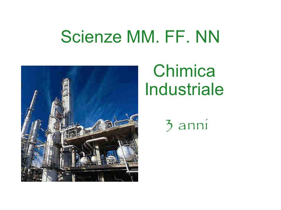Scienze MM. FF. NN Chimica Industriale 3 anni
