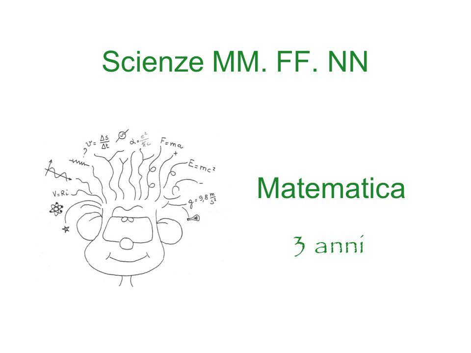 Scienze MM. FF. NN Matematica 3 anni