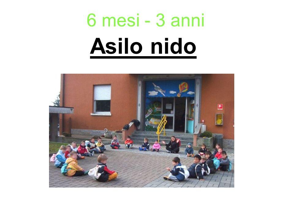 Scuola materna 3 anni - 6 anni