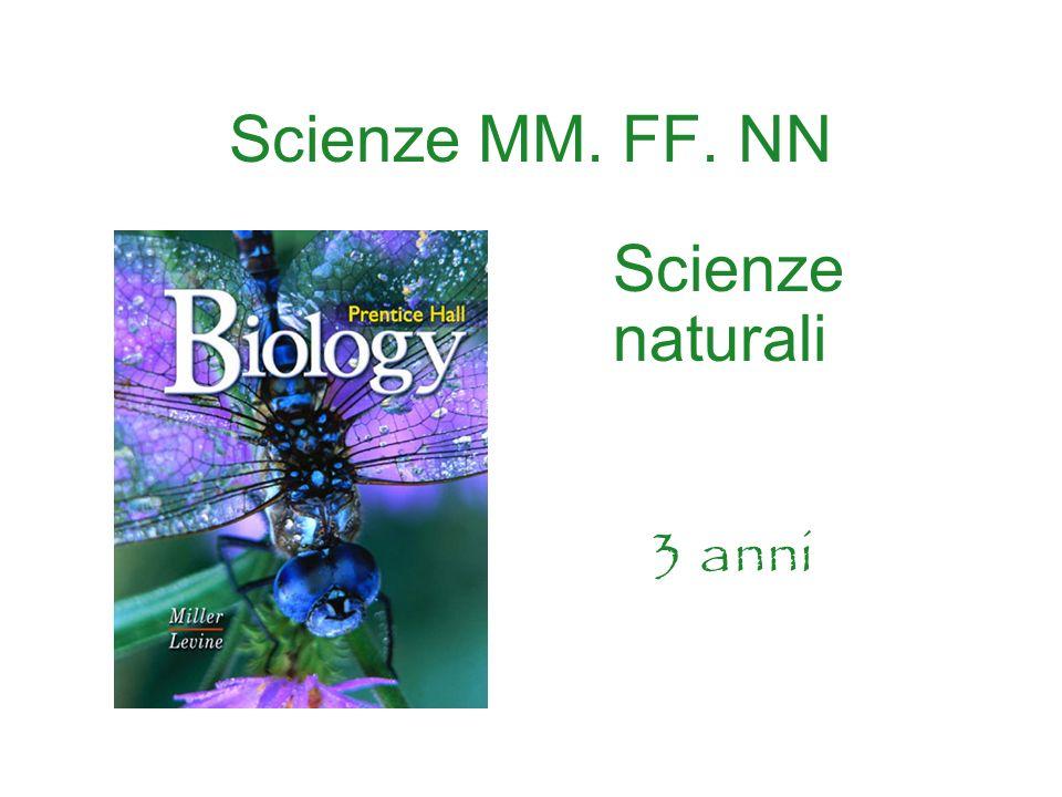 Scienze MM. FF. NN Scienze naturali 3 anni
