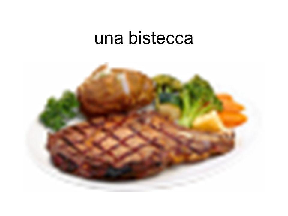 una bistecca