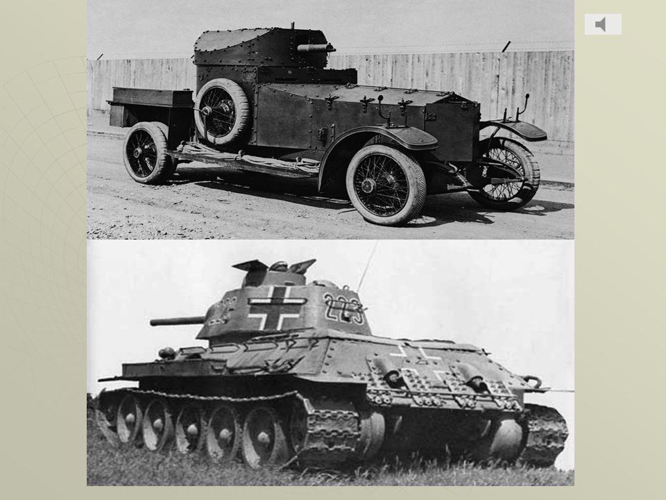 Carri armati Il carro armato è un veicolo da combattimento terrestre. Questo mezzo militare venne utilizzato sul campo di battaglia per la prima volta