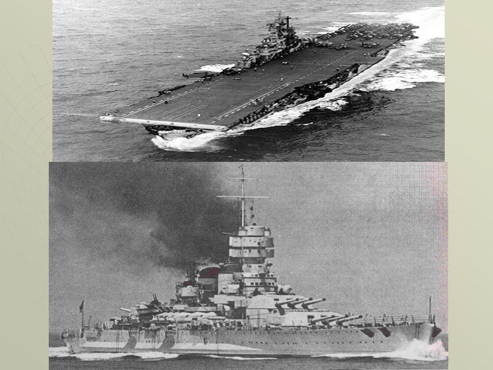 Navi Pur annoverando alcune famosissime corazzate ( la tedesca Bismarck e linglese Prince of Wales), le navi della seconda guerra mondiale non furono