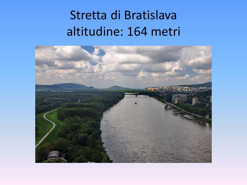 Stretta di Bratislava altitudine: 164 metri