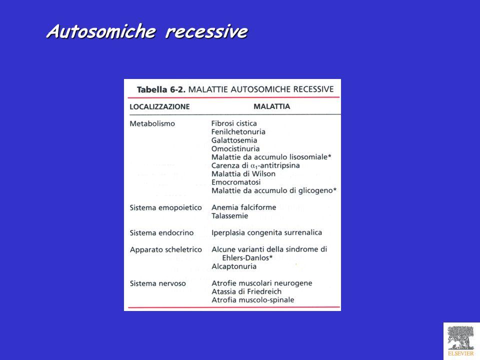 Autosomiche recessive