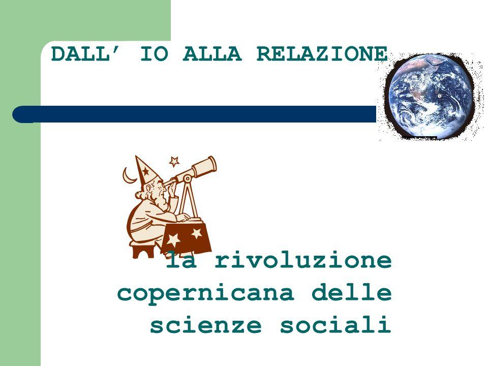 DALL IO ALLA RELAZIONE la rivoluzione copernicana delle scienze sociali