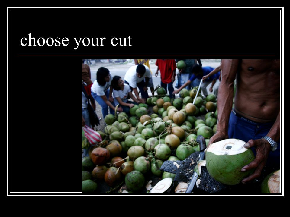 choose your cut