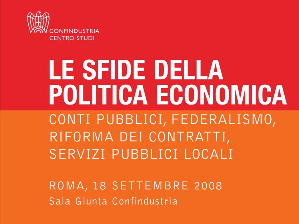 Luca Paolazzi - Direttore Centro Studi Confindustria Oneri sociali (65,8%) Consumi (9,6%) IRPEF (24,5%) Un prelievo squilibrato (Ripartizione % dellincidenza fiscale effettiva -2008) Fonte: elaborazioni CSC su dati Banca dItalia, ISTAT.