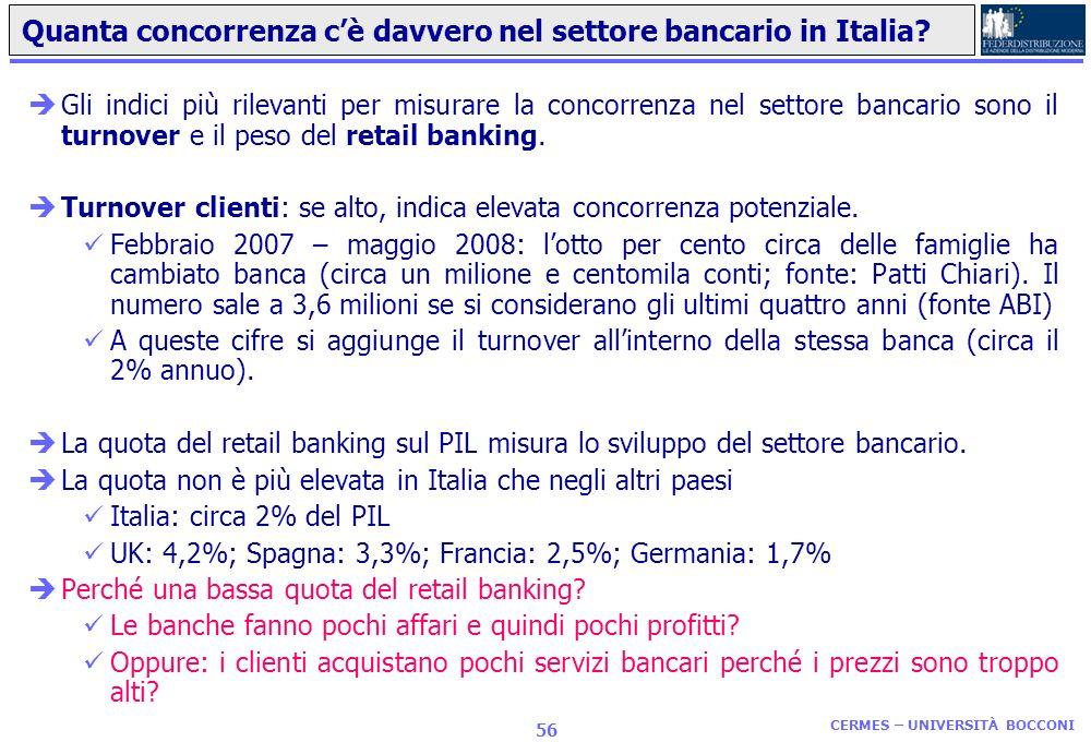 Banche e assicurazioni A che punto è la liberalizzazione e le opzioni per il futuro CERMES UNIVERSITÀ BOCCONI Francesco Daveri e Mario Menegatti