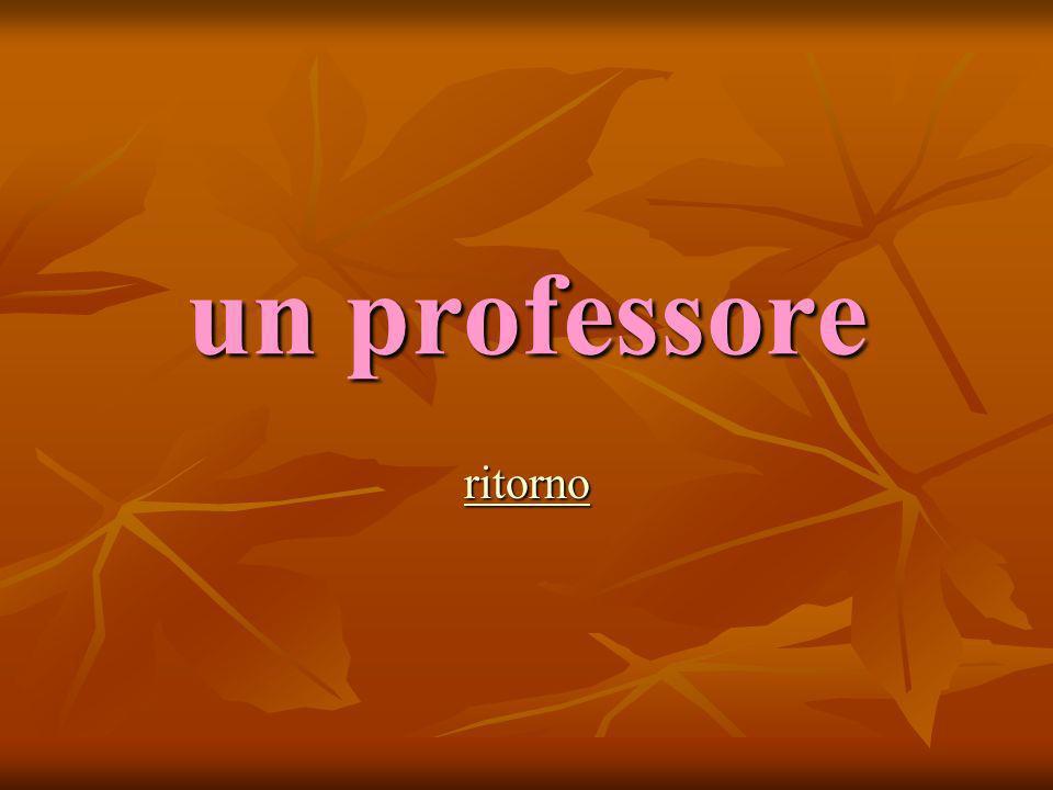 un professore ritorno
