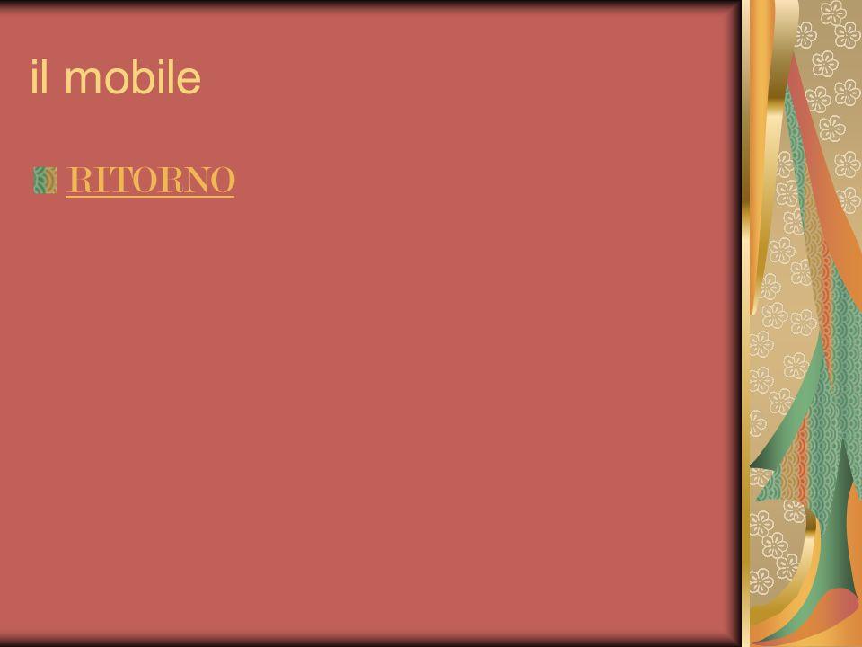il mobile RITORNO