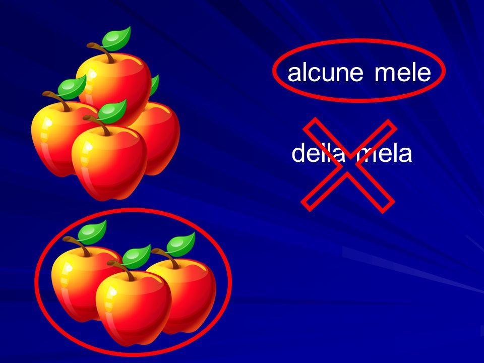 della mela alcune mele