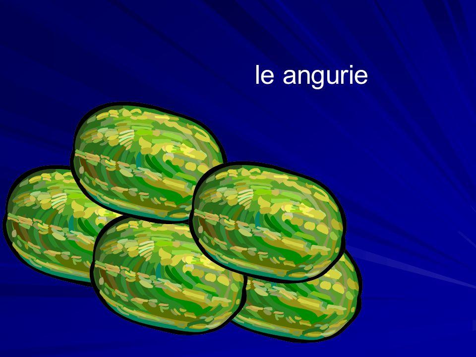 tutte le angurie