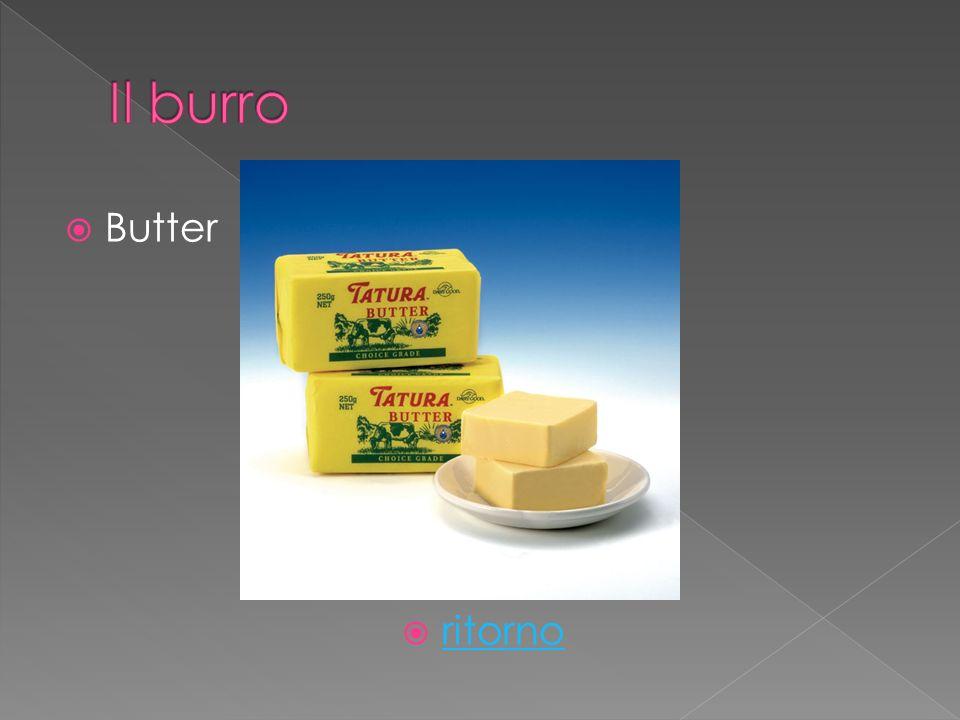 Butter ritorno