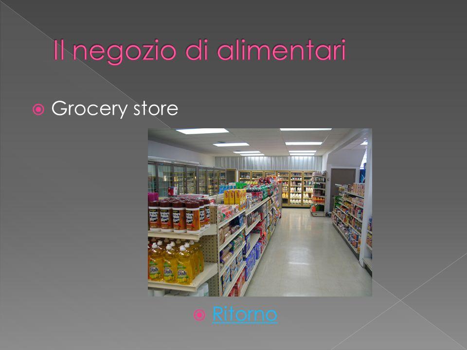 Grocery store Ritorno