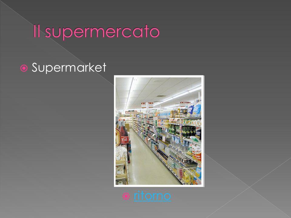 Supermarket ritorno