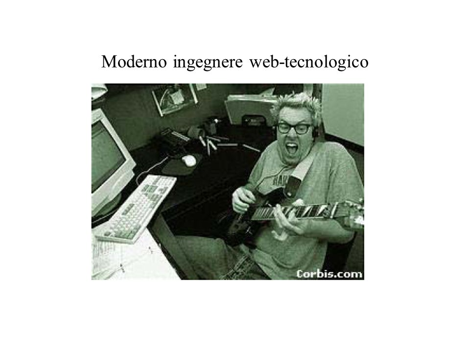 Moderno ingegnere web-tecnologico