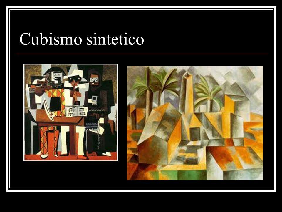 Cubismo sintetico