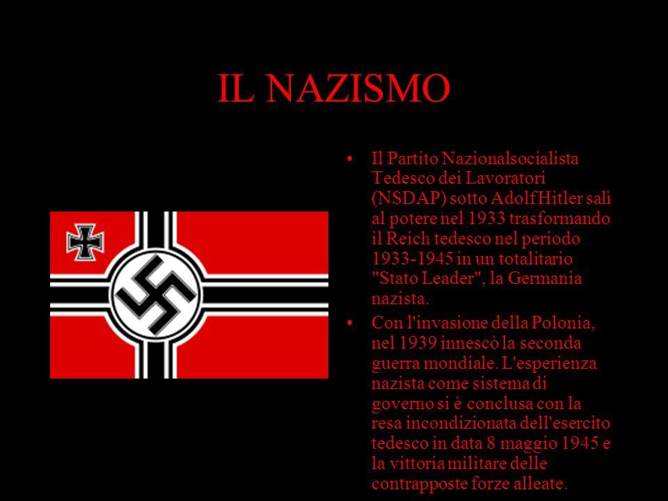 Hitler conquistò il potere cavalcando lo scontento e l'orgoglio ferito del popolo tedesco, a causa della sconfitta nella prima guerra mondiale e della