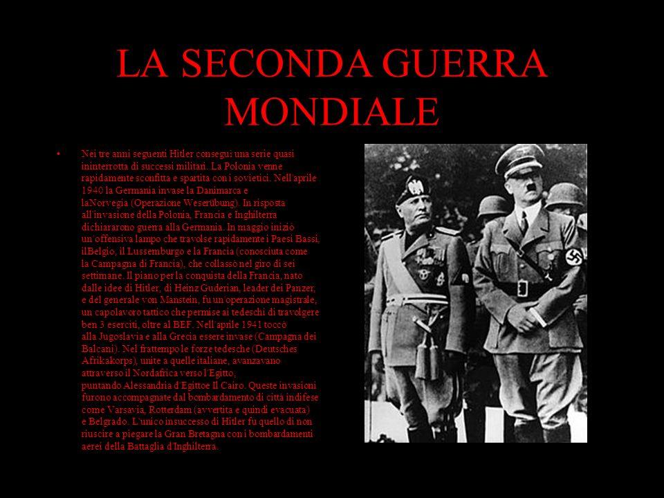 IL NAZISMO Il Partito Nazionalsocialista Tedesco dei Lavoratori (NSDAP) sotto Adolf Hitler salì al potere nel 1933 trasformando il Reich tedesco nel p