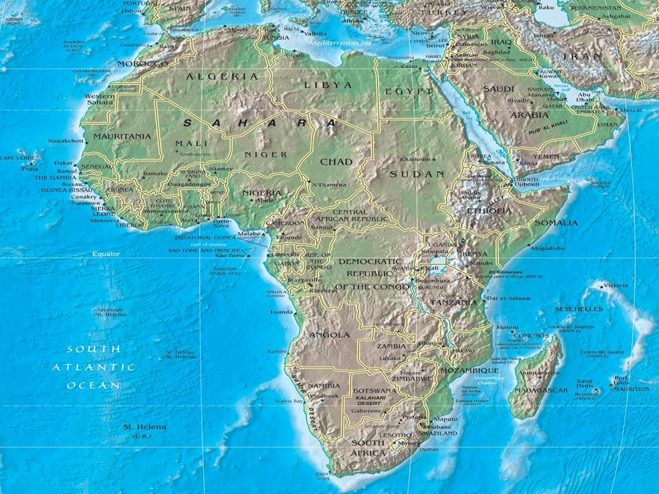 Africa Settentrionale LAfrica Settentrionale si estende a cavallo del tropico del Cancro : dalla costa mediterranea attraversa il deserto del Sahara e si spinge fino al Sahel che significa sponda o riva del deserto.