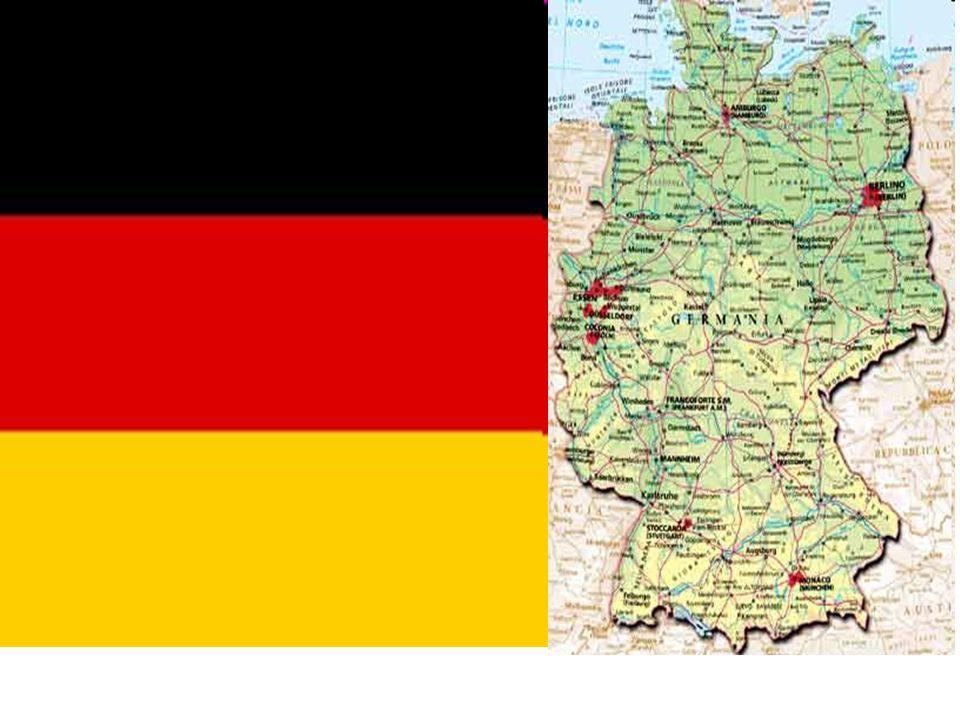 Forma di governo = repubblica federale Capitale = Berlino Moneta = euro Lingua = tedesco Isu = 22° posto Supeficie=357114 Popolazione = 82314906 Densità = 231