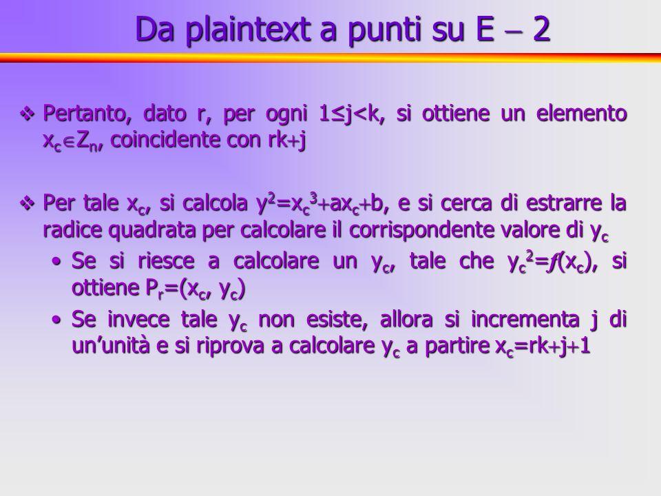 32 Pertanto, dato r, per ogni 1j<k, si ottiene un elemento x c Z n, coincidente con rk j Pertanto, dato r, per ogni 1j<k, si ottiene un elemento x c Z