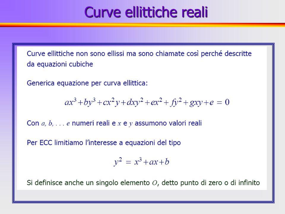 36 Osservazioni Per i campi finiti esiste un algoritmo, detto index calculus, che permette di calcolare il logaritmo discreto (ovvero di risolvere il DLP) con complessità subesponenziale Tale algoritmo si fonda sulla definizione delle operazioni di somma e prodotto, e quindi non è applicabile sulle curve ellittiche che possiedono esclusivamente una struttura additiva La sicurezza dei crittosistemi su curve ellittiche risiede nellattuale non conoscenza di algoritmi subesponenziali per risolvere lECDLP Esistono tuttavia algoritmi subesponenziali per particolari classi di curve ellittiche (in particolare per le curve supersingolari) Crittosistemi su curve ellittiche 3